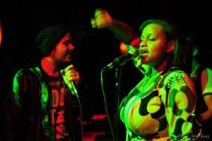 Elan Atias and Maiya Sykes at The Joint LA